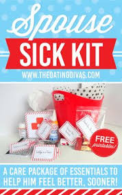 feel better care package ideas care package for the sick husband gift ideas sick
