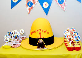 curious george party readers favorite curious george birthday party project nursery