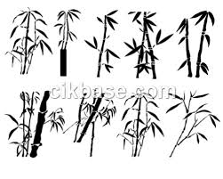 11 ink style bamboo brushes package abr file format vector