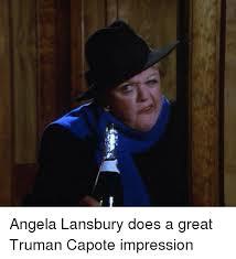 Angela Lansbury Meme - ems angela lansbury does a great truman capote impression doe meme