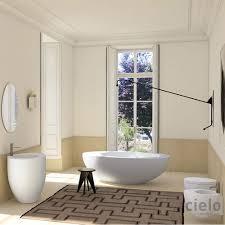 Colored Bathtubs Bath Tub With Hidden Overflow Le Giare Colored Bathroom Ceramica