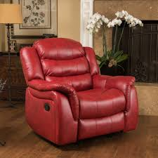 christopher knight home hawthorne pu leather glider recliner club