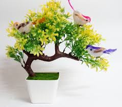 artificial flower buy hyperboles artificial plants with hanging birds guest greeting