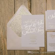wedding invitations gold foil gold foil and glitter wedding invitation blush and gold