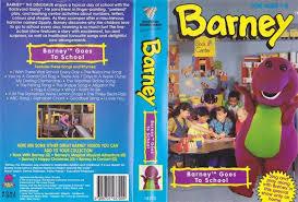 Vhs Barney U0026 Backyard Gang by Barney And The Backyard Gang Barney Goes To Qonyz