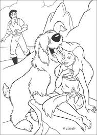 mermaid coloring pages girls 45129