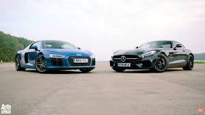 Audi R8 Spyder Pictures Auto Express Mercedes Amg Gt S And Audi R8 V10 Go Head To Head With Surprising