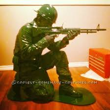 Halloween Costumes Soldier Coolest Homemade Plastic Toy Soldier Costumes