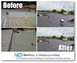 scope of work firstly we high pressure cleaned the entire roof