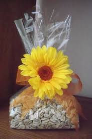 sunflower wedding favors roasted sunflower seeds salted in shell sunflower wedding
