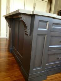 Gray Kitchen Floor by Maple Cabinets Stained In A Rich Grey Tone Complemented By A