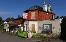 demolition of derelict calcot pub halted after housing plan is