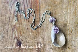 Diy Vintage Chandelier Upcycling Diy Retro Chandelier Necklace