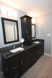 Kitchen Cabinets Raleigh Dark Bath Cabinets By The Bath Remodeling Center Llc
