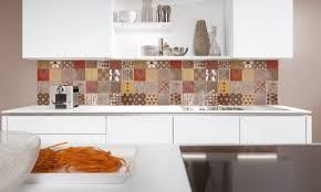 feature kitchen wall tiles range hood cooktop rectangular brown