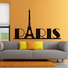 Wall Decal For Living Room Compare Prices On Paris Wall Decals Online Shopping Buy Low Price