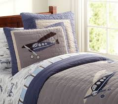 Airplane Toddler Bedding Taking Flight Quilted Bedding Pottery Barn Kids I Think I U0027m