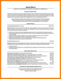 Private Chef Resume Chef Resume Examples Sushi Chef Resume Resume Format Download Pdf