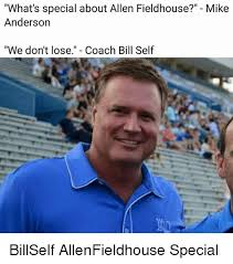 Ucla Anderson Memes - what s special about allen fieldhouse mike anderson we don t lose