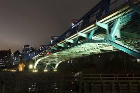 seattle city light change of address fremont bridge light show celebrates multi bridge centennial