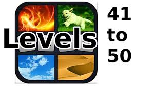 4 pics 1 word level 41 to 50 walkthrough youtube