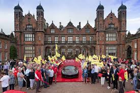 lexus in birmingham gallery ferrari celebrates 70th anniversary in birmingham and