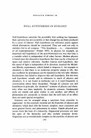 laws of life sample essay null hypotheses in ecology springer inside