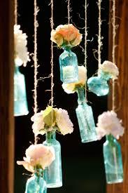 diy backdrops mason flower jars budget wedding pinterest
