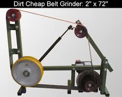 Cheap Bench Grinder Diy Knifemaker U0027s Info Center Dirt Cheap 2 X 72 Belt Grinder Build