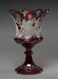 Antique Cranberry Glass Vase 1056 Best Bohemian Czech Austrian Glass Images On Pinterest