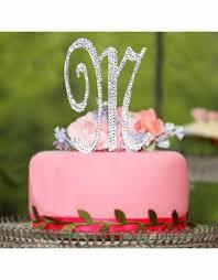 monogram wedding cake toppers advantagebridal com