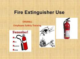 fire extinguisher use ehs4all employee safety training ppt download