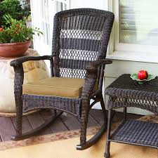 Patio Rocking Chair Shop Tortuga Outdoor Portside Roast Wicker Patio Rocking