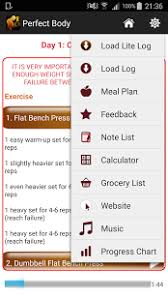 Increase Bench Press Chart Perfect Body Building Plan Android Apps On Google Play