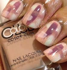 brush stroke nail art color club shift into neutral polish