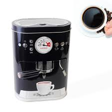 coffee jar tin pod machine tea sugar biscuit box cookie storage