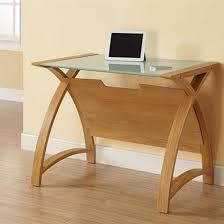 Glass Topped Computer Desk Small Glass Top Computer Desk Catchy Home Design Inspiration