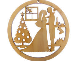 personalized wedding christmas ornament wedding gift wedding ornaments wedding gift set