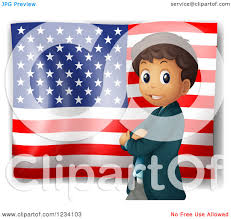 Who Invented The United States Flag American Flag Clipart Us History Pencil And In Color American