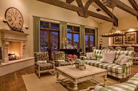 Appealing Country French Living Rooms Designs  French Country - Country family rooms