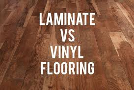 is vinyl flooring better than laminate vinyl vs laminate flooring rc willey