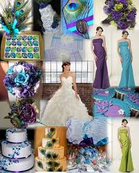 peacock wedding 4 tips for choosing your wedding colors ewedding