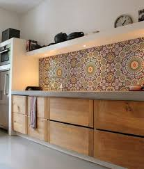 Best  Vinyl Backsplash Ideas On Pinterest Vinyl Tile - Wallpaper backsplash