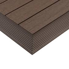 newtechwood 1 6 ft x 1 ft quick deck composite deck tile outside