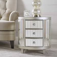 3 drawer accent table house of hton leone mirrored 3 drawer accent chest reviews