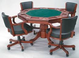 who sells card tables table and chairs