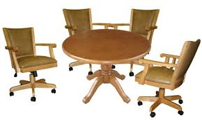 Kitchen Chairs On Wheels Swivel Charming Charming Kitchen Chairs With Wheels Kitchen Chairs Swivel