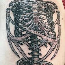 human skeleton tattoo u2013 craftbrewswag info