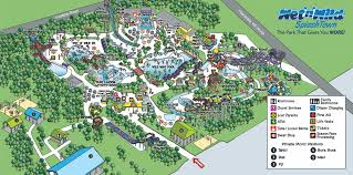 Map Of Spring Texas Park Map Wet U0027n U0027wild Splashtown