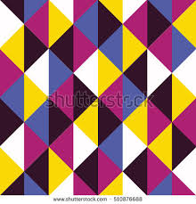bold colors bold colors pop art triangle pattern stock vector 510876688